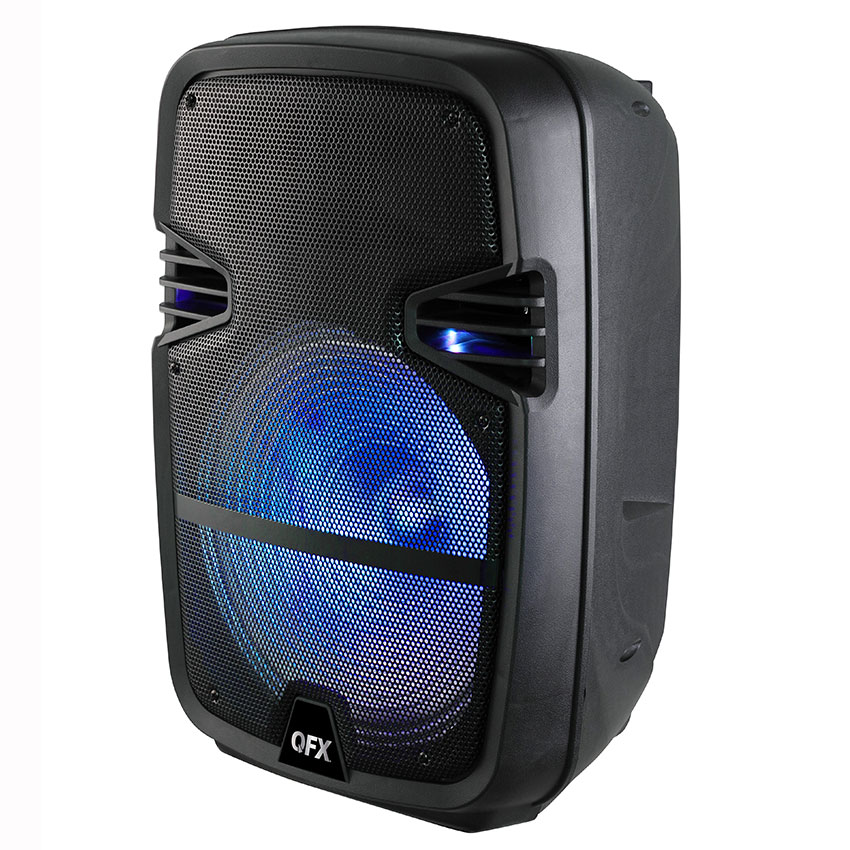 "QFX BAFLE 15"" RECARGABLE"
